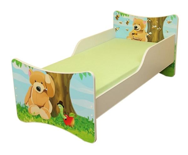 Dětská postel Medvídek - 180x80 cm