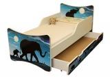 Dětská postel a šuplík/y Afrika