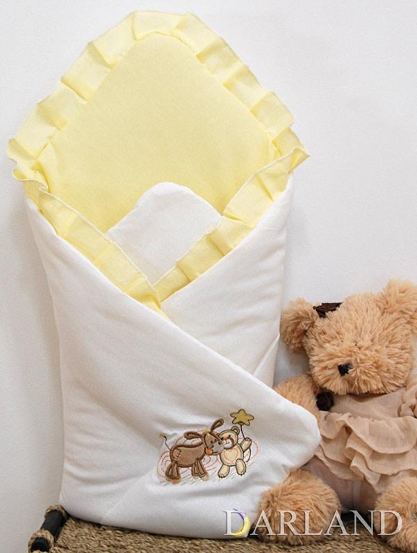 Luxusní zavinovačka - Oslík a medvídek krém
