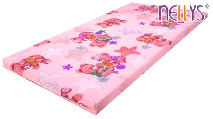 Pěnová (molitanová) matrace - dívčí barvy,různé motivy