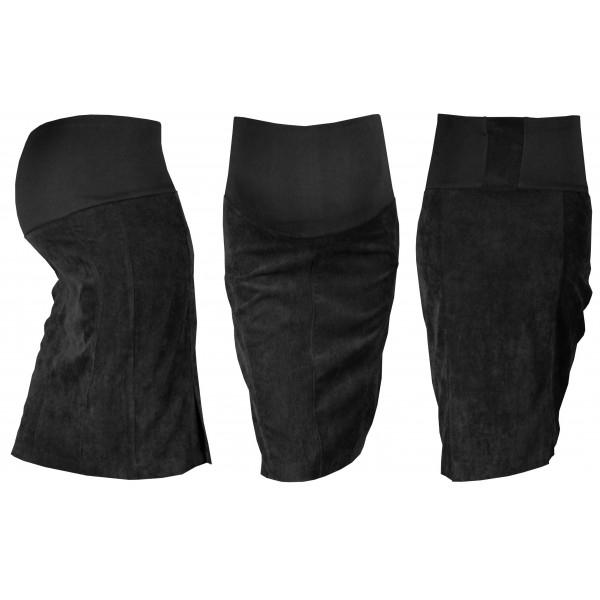 Těhotenská sukně MALO - černá