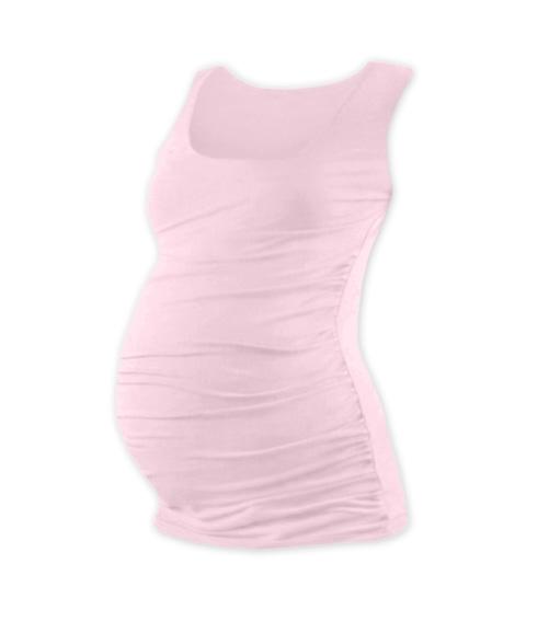 Těhotenský top JOHANKA - sv. růžová