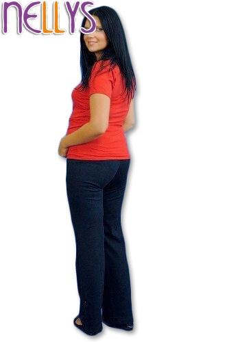 Těhotenské tepláky - granát