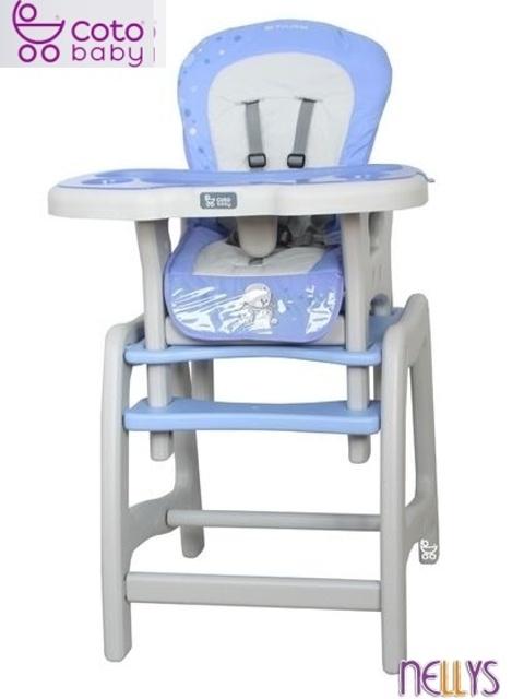 Jídelní stoleček Coto Baby STARS blue