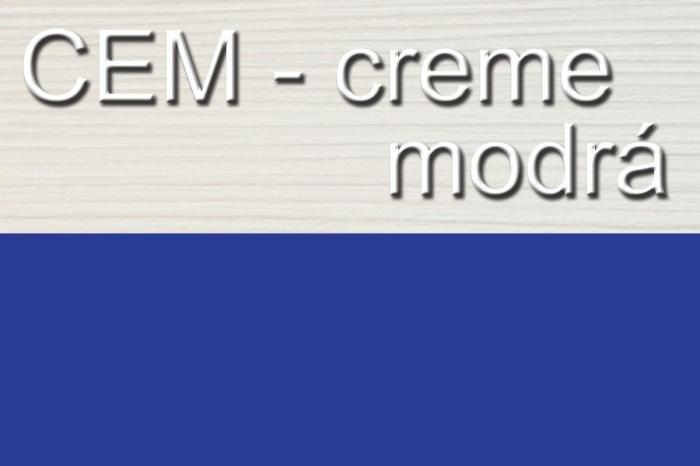 Počitačový stůl univerzální STEVE creme/blue