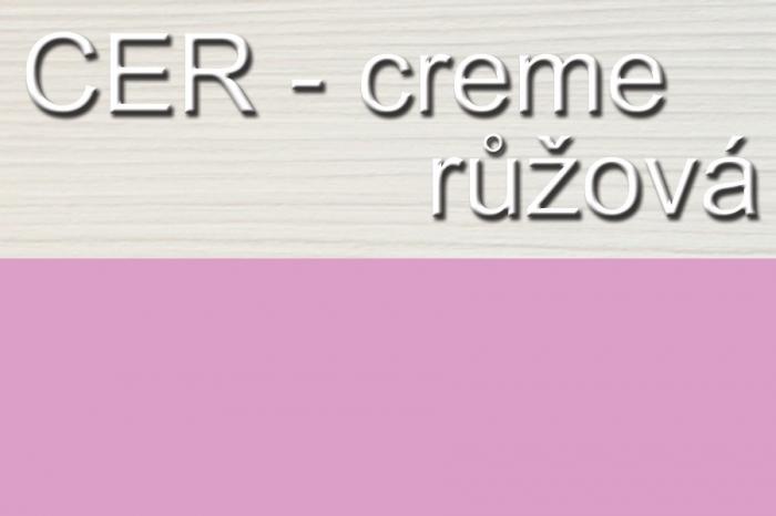 Počitačový stůl univerzální STEVE creme/pink