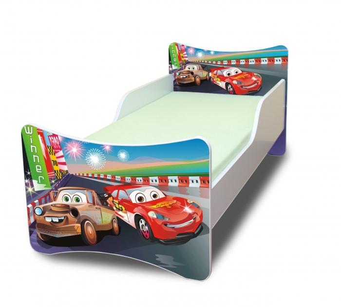Dětská postel Auta 2.