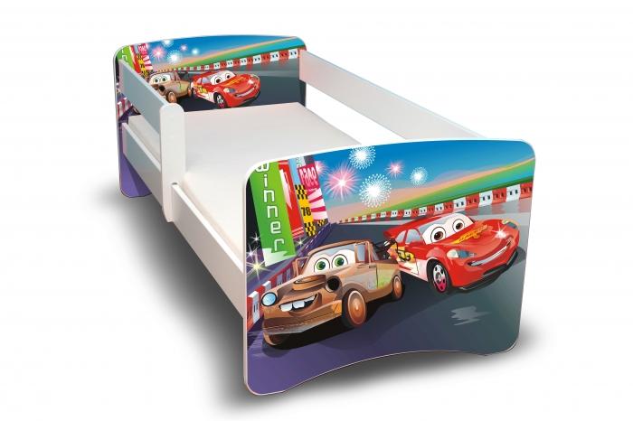 Dětská postel Auta 2. II. F - 160x90 cm