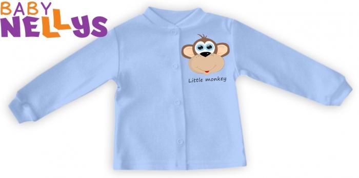 Košilka Little Monkey - sv. modrá