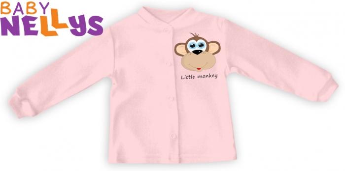 Košilka Little Monkey - růžová