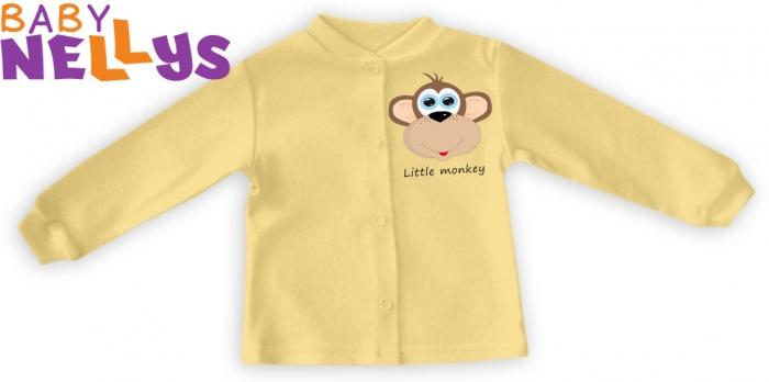 Košilka Little Monkey - krémová/žlutá