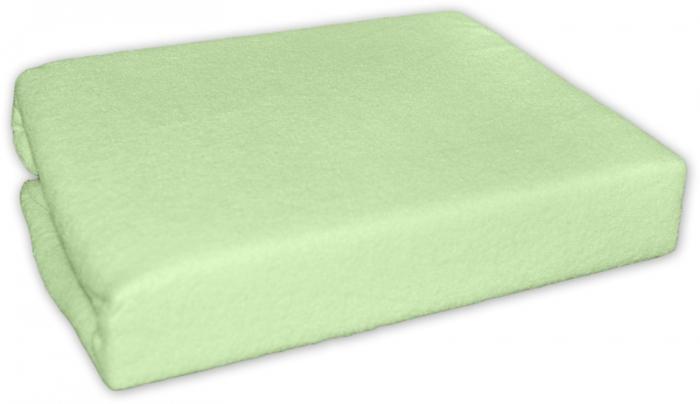 Jersey prostěradlo - Zelené - 140x70