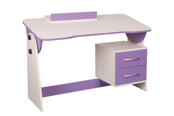 Psací stůl univerzální/sklápěcí CASPER - fialový