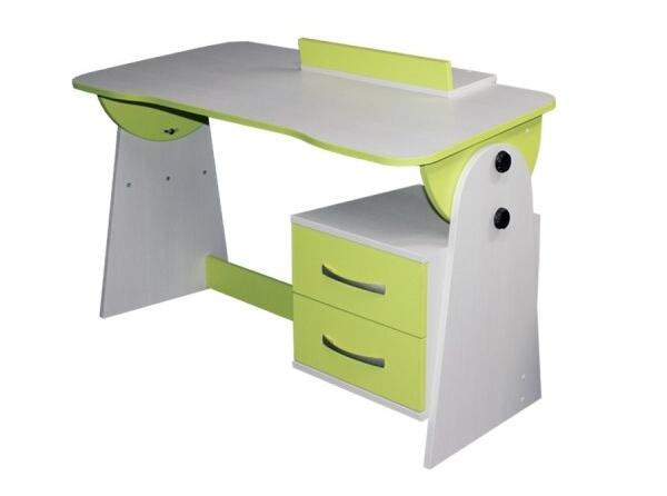 Psací stůl univerzální/sklápěcí CASPER - zelený