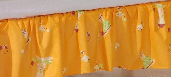 Krásný volánek pod matraci - Šnek pomeranč