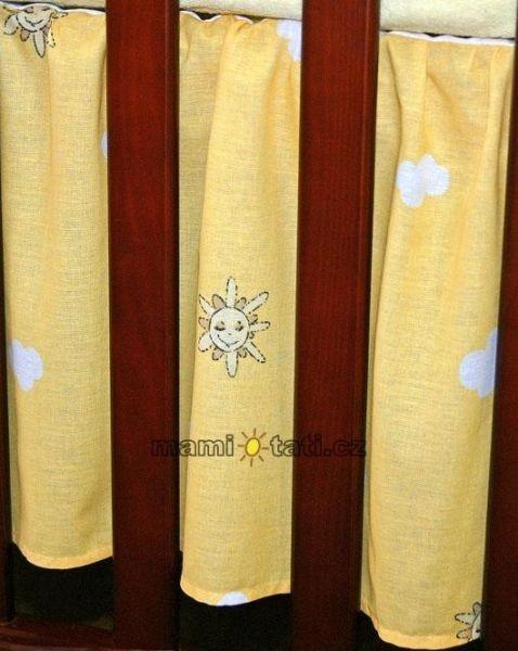 Krásný volánek pod matraci - Městečko pomeranč