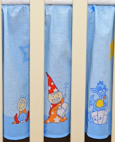 Krásný volánek pod matraci - Zámek modrý