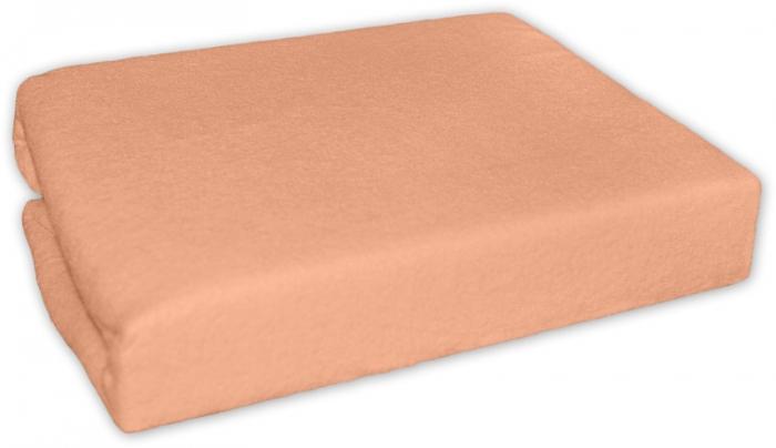 Froté prostěradlo - Pomeranč