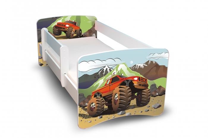 Dětská postel Auta, II.