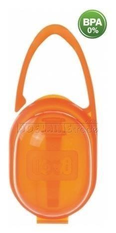 Pouzdro na dudlík LOVI - oranžové