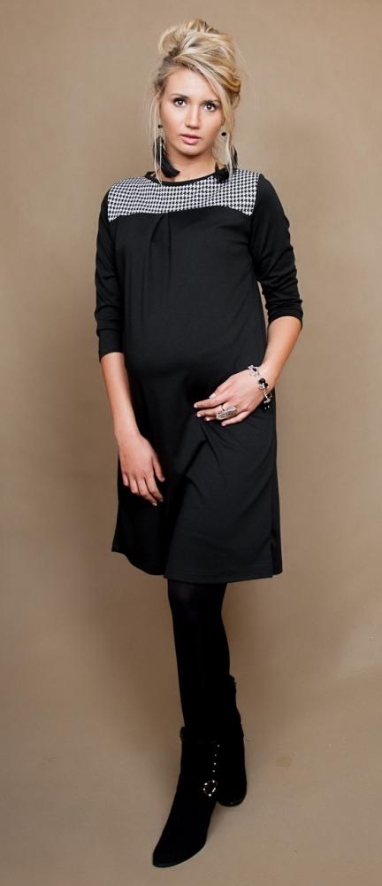edcb2515b725 Be MaaMaa Těhotenské šaty tunika LANA dl. rukáv