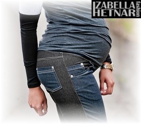 fc83a86cd03 Těhotenské kalhoty jeans KORINA