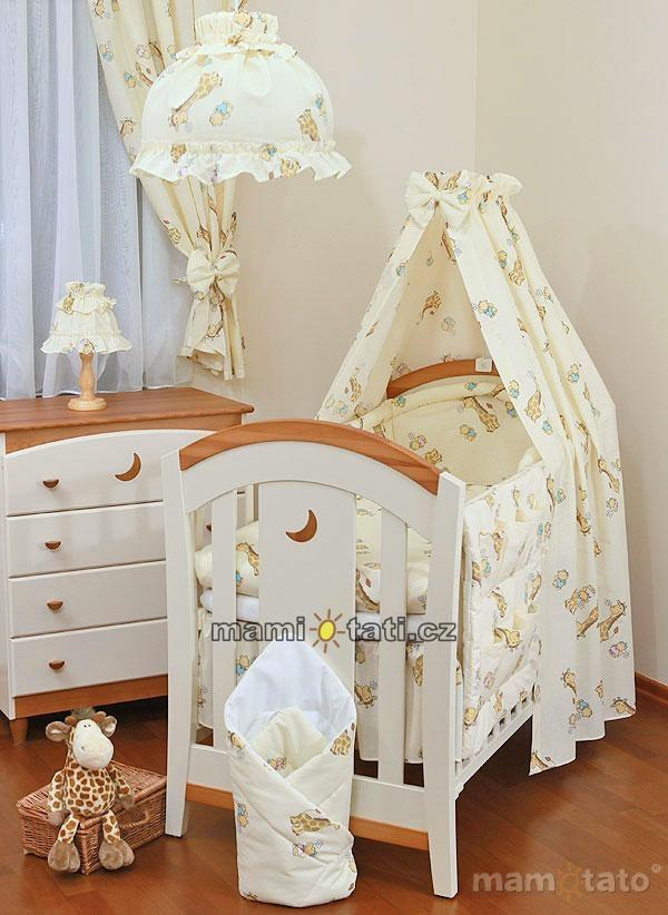 Noční lampička - Žirafky ecru
