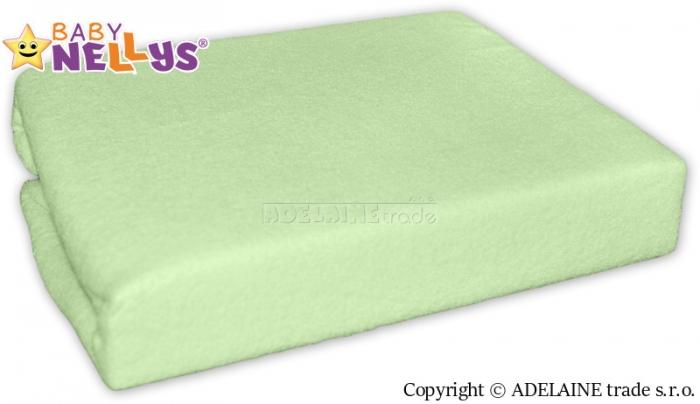 Nepromokavé prostěradlo Baby Nellys ® - Zelená