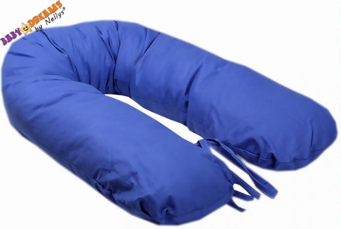 Kojící polštář - relaxační poduška Nellyska Multi - modrý