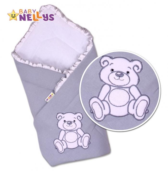 Zavinovačka Teddy Bear - jersey - šedá