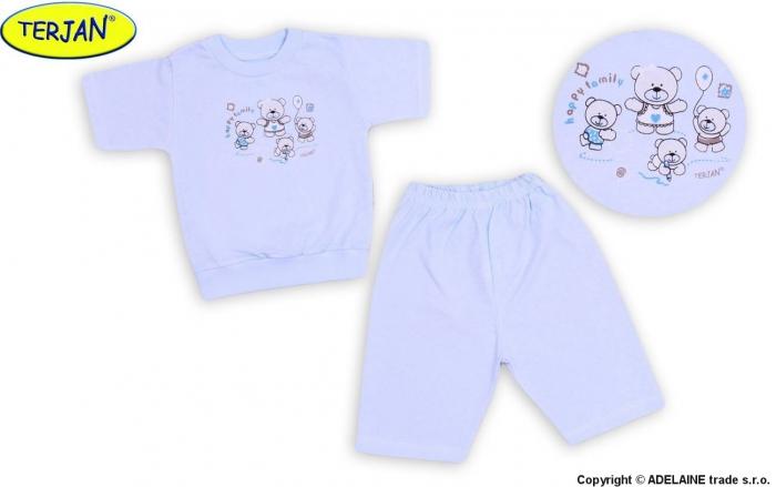 Dětské pyžámko TERJAN - sv. modré b53c033f4b