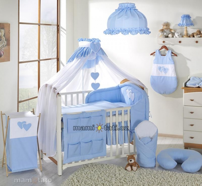 Luxusní mega set s mosktiérou - Srdíčko modré