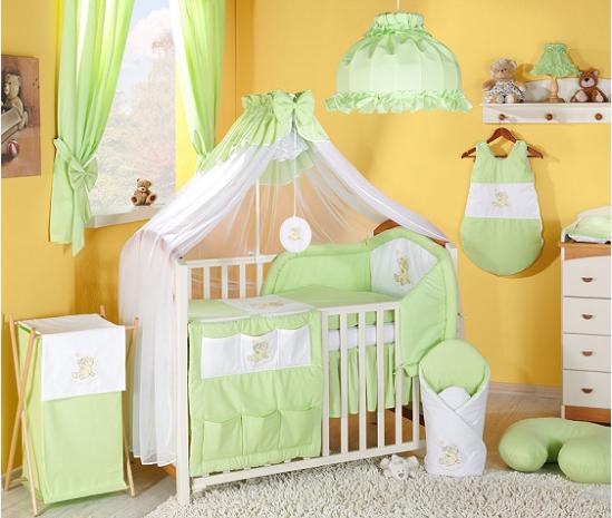 Luxusní mega set s moskytierou - Mráček zelený