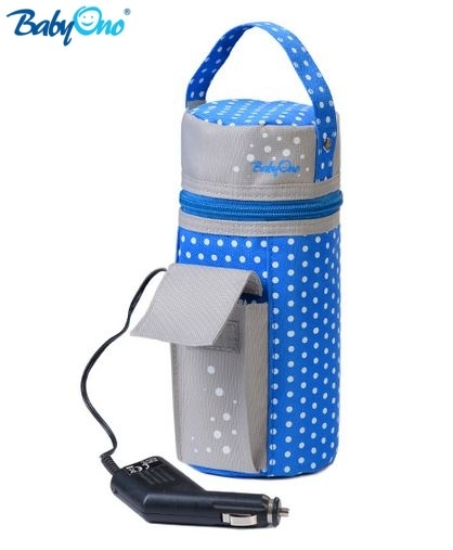 Cestovní ohřívač do auta Baby Ono - modrý