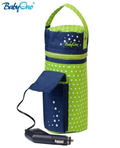 Cestovní ohřívač do auta Baby Ono - zelený