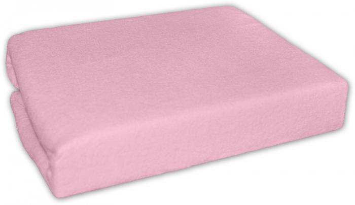 Prostěradlo do kolébky froté - Růžové