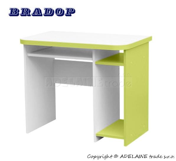 Psací/počítačový stůl Casper Dale - zelený