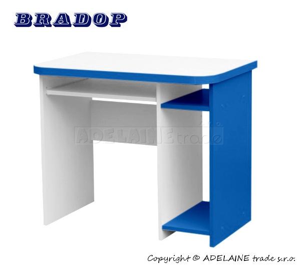 Psací/počítačový stůl Casper Dale - modrý