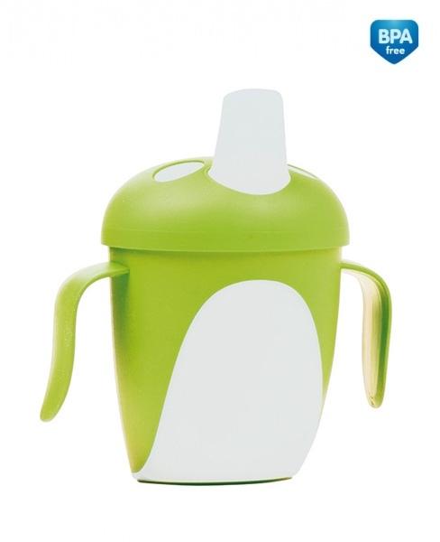 Hrneček Canpol Babies tučnák - zelený