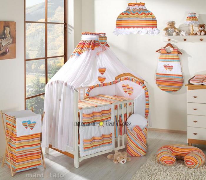 Moskytiéra lux - Veselý proužek pomeranč