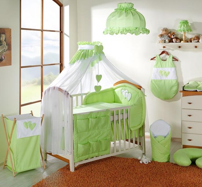Moskytiéra lux - Srdíčko zelené
