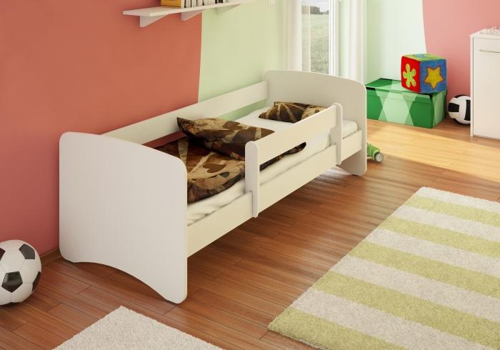 Dětská postel Filip bílá 180 x 80 cm.