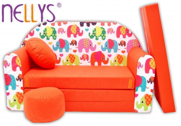Rozkládací dětská pohovka Nellys ® 67R