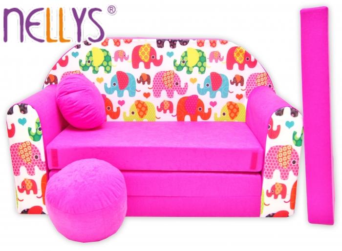 Rozkládací dětská pohovka Nellys ® 69R