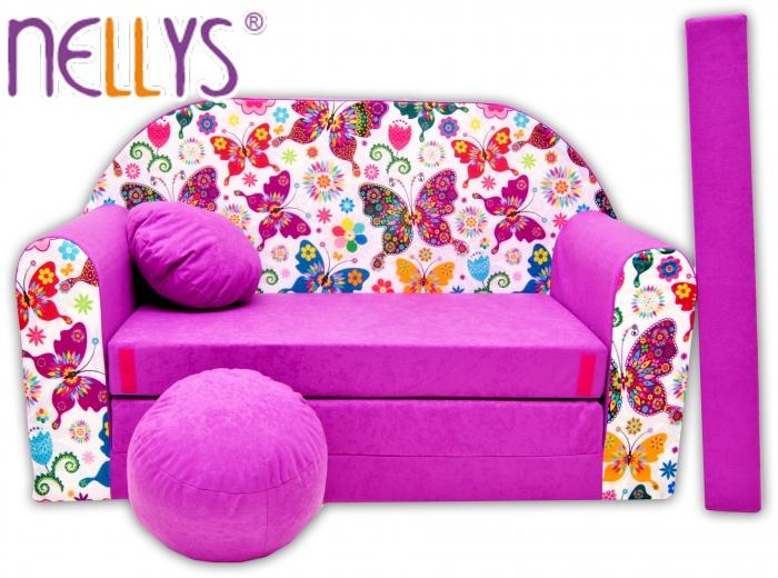 Rozkládací dětská pohovka Nellys ® 74R
