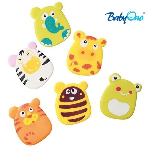 Baby Ono Veselé hračky do vody - přísavky - sada KLUK