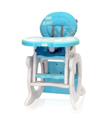 Jídelní stoleček Coto Baby STARS Q Blue
