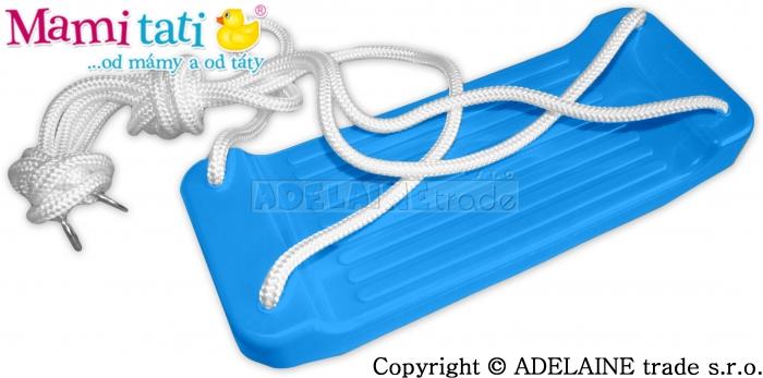 Plastová houpačka - modrá