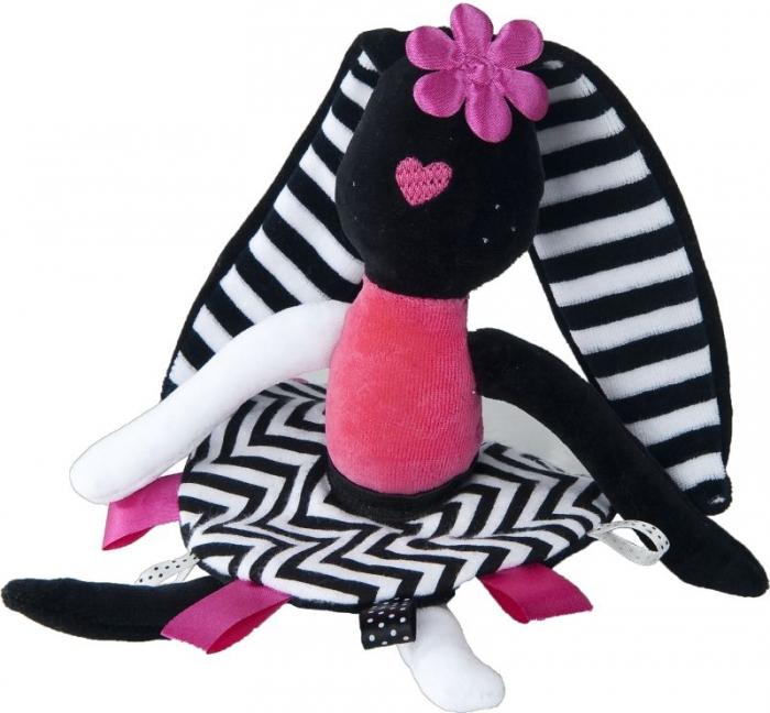 Edukační hračka, mazlík Králíček - holka