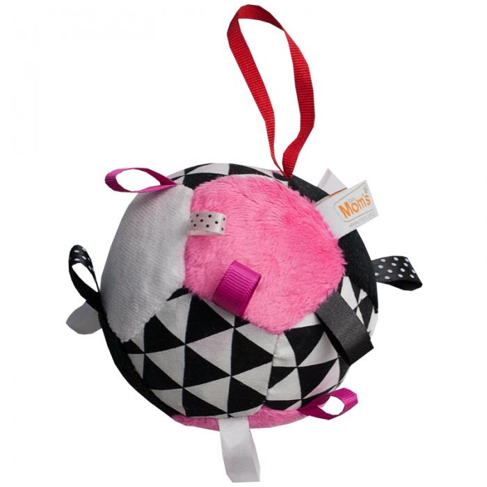 Plyšový barevný balónek - růžová